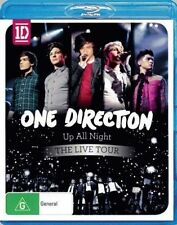 ONE DIRECTION Up All Night The Live Tour BLU-RAY BRAND NEW