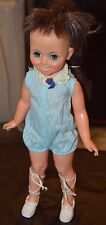 """Vintage Ideal Crissy's Doll Family """"MIA"""" in Original Blue Outfit i& Shoes"""