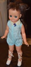 """Vintage Ideal Crissy's Doll Family """"MIA"""" in Original Blue Outfit & Shoes"""