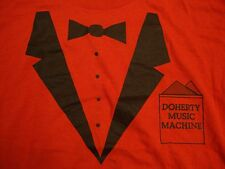 Vintage Doherty Music Machine Tuxedo Classy Fancy Casual Red T Shirt M