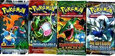 ① 4 BOOSTERS de CARTES POKEMON Neuf Aucun double en FRANCAIS (Lot N° AAC)
