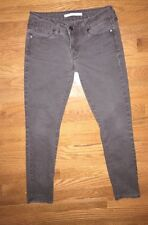 Women's Vince Skinny Ankle Jeans Dark Brown Size 26x28