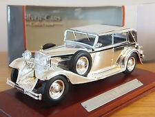 ATLAS EDITIONS SILVER CARS MAYBACH ZEPPELIN CHROME CAR MODEL 1:43 7687102