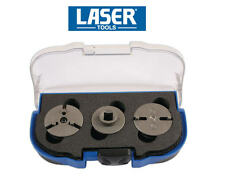LASER Rear Disc Brake Caliper Piston Rewind Tool Adjustable Adaptor Set 6090