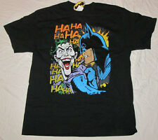 LARGE BATMAN DC COMICS MENS T-SHIRT JOKER VILLAIN DARK NIGHT JUSTICE LEAGUE TEE