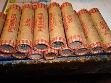 1943-p-lincoln  roll-steel pennies  world-war-ll-----------#`10