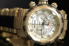 Invicta Mens Reserve CAPSULE Swiss Made Chrono Champagne Dial Gold Plated Watch