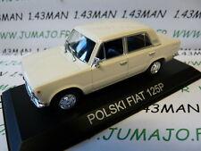 Voiture 1/43 IXO DEAGOSTINI Balkans : POLSKI FIAT 125P