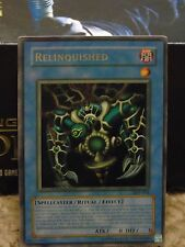 YuGiOh Relinquished super rare Mint condition DB1-EN015  Free Postage