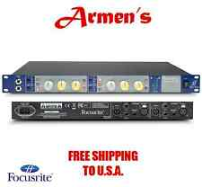 Focusrite ISA TWO 2 CHANNEL MICROPHONE PREAMP DUAL MONO MIC PRE  in box //ARMENS