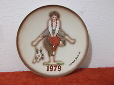 VINTAGE NORMAN ROCKWELL 1979  LEAP FROG  IN RELIEF DESIGN COLLECTOR PLATE....