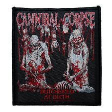 """Cannibal Corpse Butchered at Birth"" Album Art Metal Band Sew On Applique Patch"