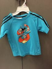 RARE OFFICIAL ADIDAS 2012 LONDON OLYMPICS KIDS T-SHIRT SIZE 7/8
