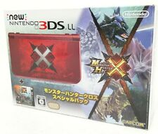 Used Monster Hunter Cross X special pack Nintendo 3DS LL XL console FastShipping
