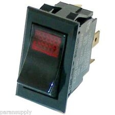 NEW POWER SWITCH Middleby Marshall # P9100-60 120/250V 20 Amp Rocker 3 Terminals