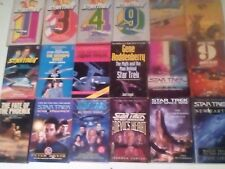 STAR TREK X 18 PAPERBACKS LOT