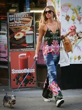STELLA MCCARTNEY HAWAIIAN TROPICAL FLORAL PRINT SILK JUMPSUIT IT 40 UK 8 £1145!