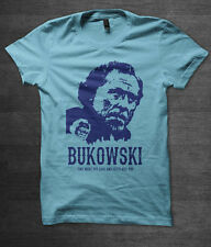 charles bukowski t shirt book literature cult indie cool