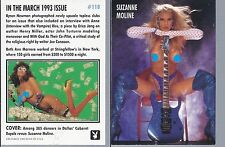 PLAYBOY  card  # 118   IN THE MARCH 1993   ISSUE