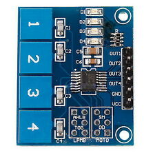 1pc TTP224 4-way Capacitive Touch Switch Module Digital Touch Sensor For Ardu FE