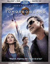 Tomorrowland (Blu-ray/DVD 2015) Walt Disney - George Clooney, Britt Robertson