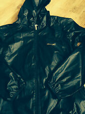 womans size 10 Reebok blac hooded jacket good condition been worn 100% authentic