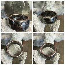 American History Top Quality 1972 Ike Eisenhower One Dollar Crafted Coin Ring