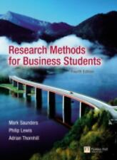 Research Methods for Business Students (4th Edition)-ExLibrary
