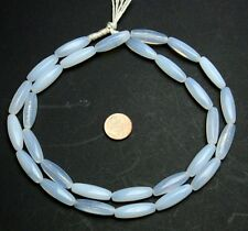 Strang 64 cm Opal weiße Moonstone trade beads