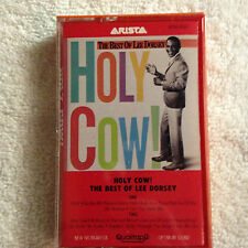 New/Sealed - The Best of Lee Dorsey - Holy Cow! - Cass. Tape - 1985 Arista    #2