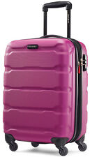 "Samsonite Omni 20"" Hardside Spinner Expandable Carry On Luggage - Pink"