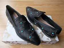 $1095 Valentino Garavani Star Studded Beatle Shoes Loafers 39.5 US 9.5 NIB