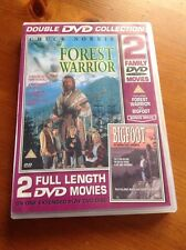 DVDs Forest Warrior And Bigfoot