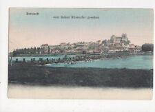 Breisach Vom Linken Rheinufer Gesehen 1907 Postcard Germany 395a