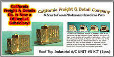 Roof Top A/C UNIT #5 KIT (2pcs) N/1:160-Scale Craftsman CAL FREIGHT