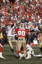 NFL Darin Jordan San Francisco 49ers #90 1991 Original 35mm Color Slide Football