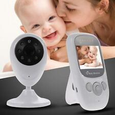"2.4GHz Wireless Digital Baby Monitor Camera Video 2.4"" LCD IR Night Vision EU TL"