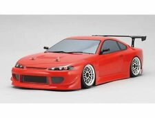 YOKOMO 1/10 RC HKS HYPER SILVIA S15 Clear Body Drift PANDORA D-Like TAMIYA