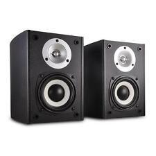 ACTIVE POWERED 2-WAY STEREO SPEAKERS 80W HIFI SYSTEM FOR PC DVD CD PLAYER NEW