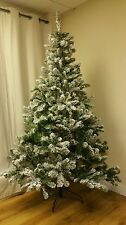 Snowy 6ft Flocked Emperor Christmas Tree