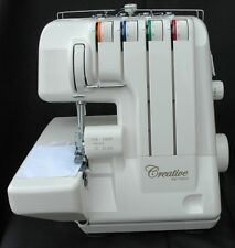 CREATIVE 750ds OVERLOCKER SEWING MACHINE  with 6 FREE Feet worth £120 Included