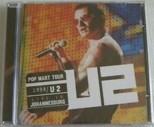 U2 LIVE IN JOHANNESBURG CD POP MART TOUR 1998 BRAZIL ONLY LIMITED + 22 TRACKS +