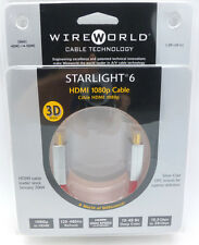 WireWorld Starlight 6 HDMI cable 1 meter Wire World