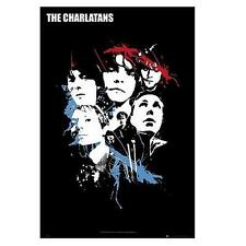 "CHARLATANS POSTER ""BAND COLLAGE"""