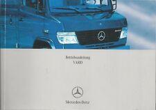 LKW   MERCEDES   VARIO   2004   Betriebsanleitung  670   Bordbuch  Handbuch   BA