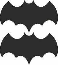 Batman Boat Car Trailer Bike Sign vinyl sticker graphic wrap skin 2-set