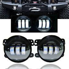 GENSSI 2x LED Fog Lights For 07-16 Jeep Wrangler JK Front Bumper Lamp 0547941