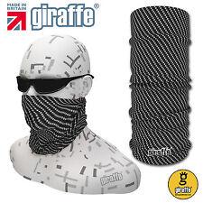 Carbon-440 multifunzionale cappucci CRAVATTE copricollo sciarpa bandana fascia tubolare