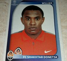 FIGURINA CALCIATORI PANINI CHAMPIONS 2008/09 SHAKHTAR WILLIAN ALBUM