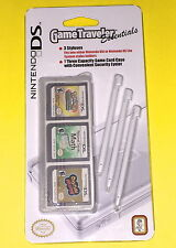 Nintendo DS Game Traveler Essentials BRAND NEW - 3 styluses & 1 game case WHITE